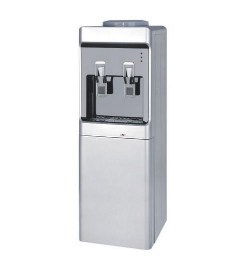 Диспенсър за вода електронно охлаждане W-28 Сиво и Черно