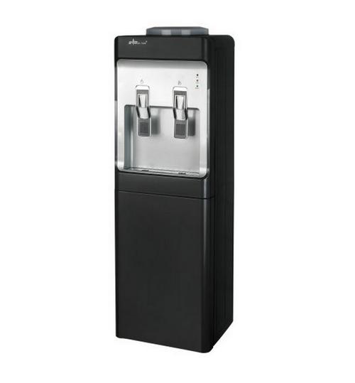 Диспенсър за вода електронно охлаждане W-28 Черно и Сиво