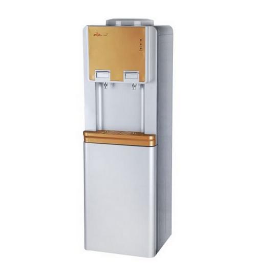 Диспенсър за вода електронно охлаждане W-29 Сиво и Златно