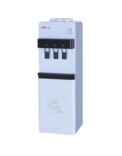 Диспенсър за вода с хладилник (компресорен) W-31 Черен