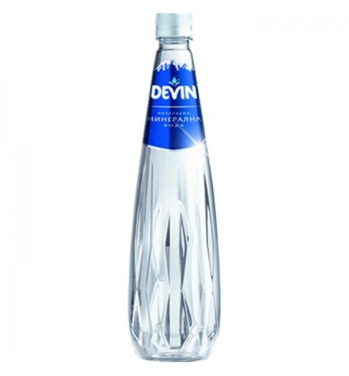 Минерална вода Девин 1л CRYSTAL LINE