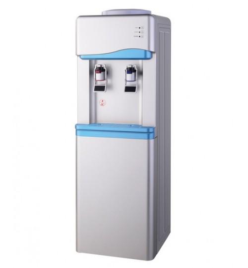 Диспенсър за вода електронно охлаждане W-33 Сиво и Синьо