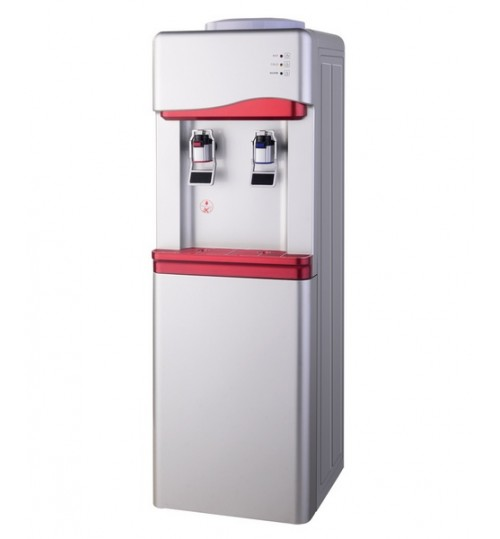Диспенсър за вода електронно охлаждане W-33 Сиво и Червено