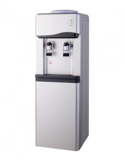 Диспенсър за вода електронно охлаждане W-33 Сиво и Черно