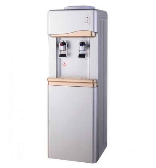 Диспенсър за вода електронно охлаждане W-33 Сиво и Златно