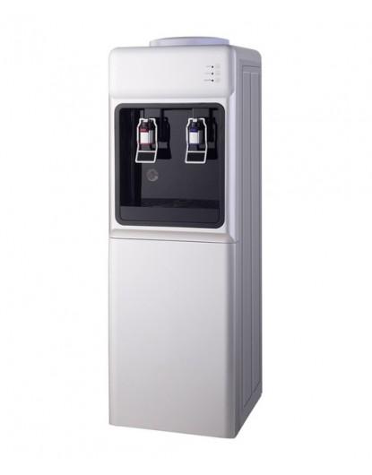 Диспенсър за вода електронно охлаждане W-34 Сиво и Черно