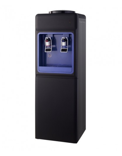 Диспенсър за вода електронно охлаждане W-34 Черно и Синьо