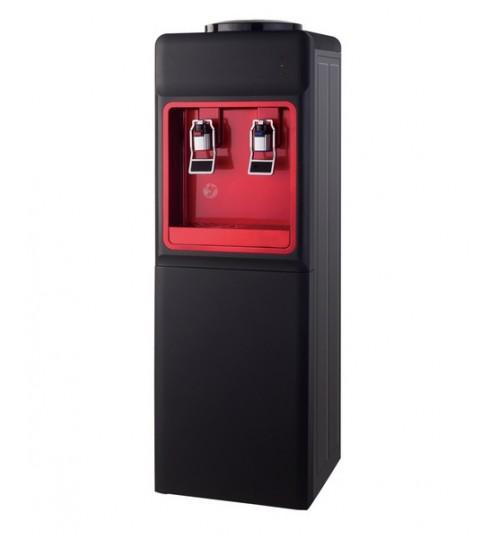 Диспенсър за вода електронно охлаждане W-34 Черно и Червено