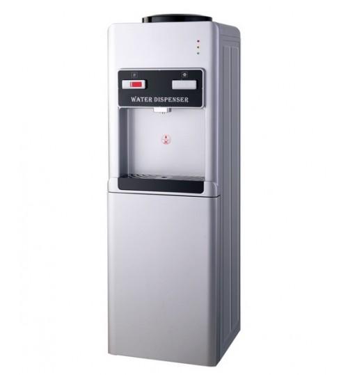 Диспенсър за вода електронно охлаждане W-35 Сиво и Черно
