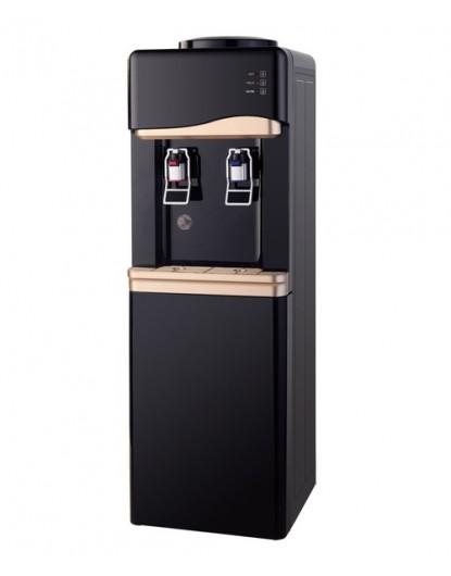 Диспенсър за вода електронно охлаждане W-33 Черно и Златно