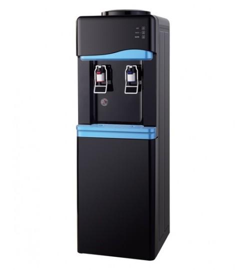 Диспенсър за вода електронно охлаждане W-33 Черно и Синьо