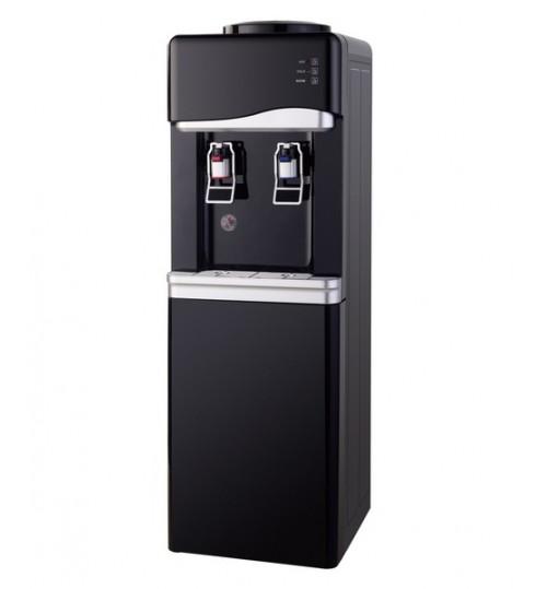Диспенсър за вода електронно охлаждане W-33 Черно и Сиво