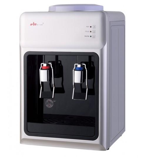 Диспенсър за вода електронно охлаждане YT-34 Сиво и Черно