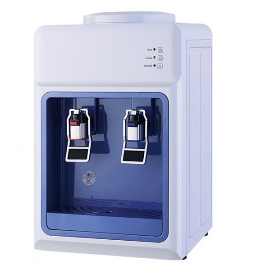 Диспенсър за вода електронно охлаждане YT-34 Бяло и Синьо