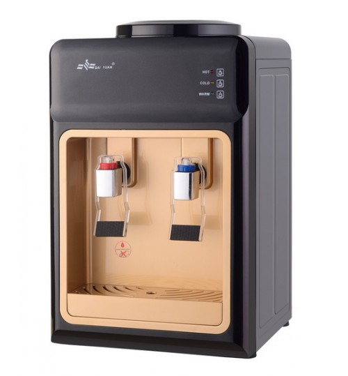 Диспенсър за вода електронно охлаждане YT-34 Черно и Златно