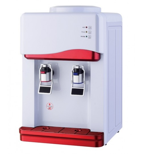 Диспенсър за вода електронно охлаждане YT-33 Сиво и Червено
