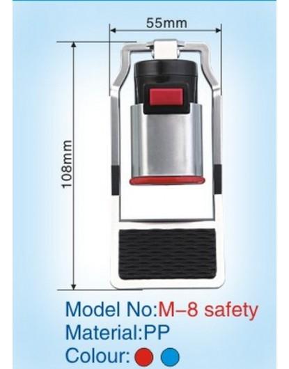 Кранче за диспенсър с долно натискане и външна резба (Червено) W-33
