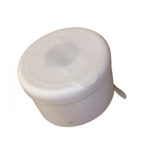 Капачки бели за 19-литрови бутилки (Галони) с тапа