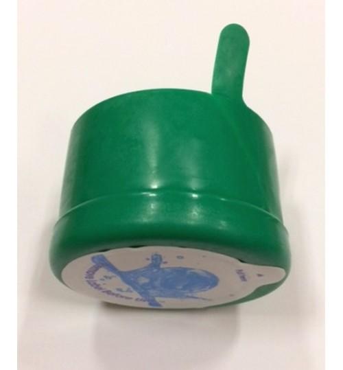 Капачки зелени за 19-литрови бутилки (Галони) с тапа