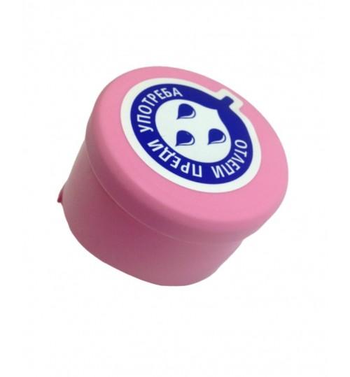 Капачки розови за 19-литрови бутилки (Галони)