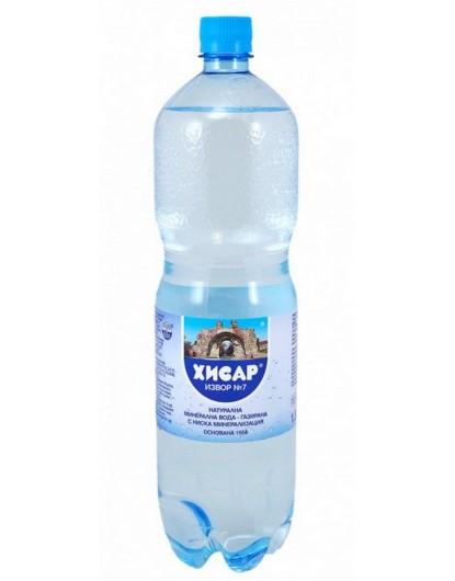 Минерална вода Хисаря 1,500л Газирана