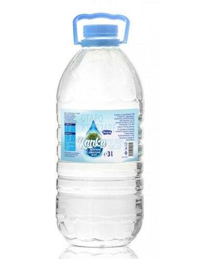 Вода Капка 3л Натурална минерална вода