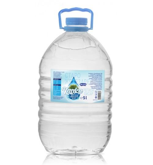 Вода Капка 5л Натурална минерална вода