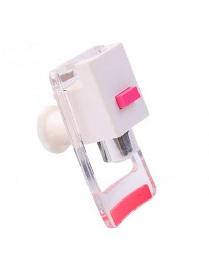 Кранче за диспенсър с долно натискане и вътрешна резба (червено) W-40