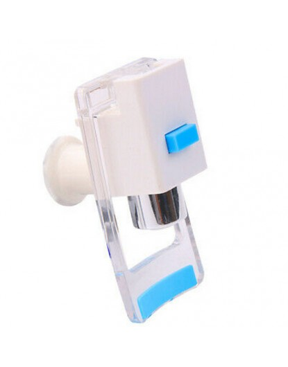 Кранче за диспенсър с долно натискане и вътрешна резба (Синьо) W-40
