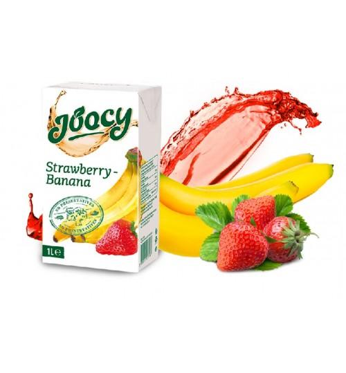 Сок Джуси Банан Ягода 1л
