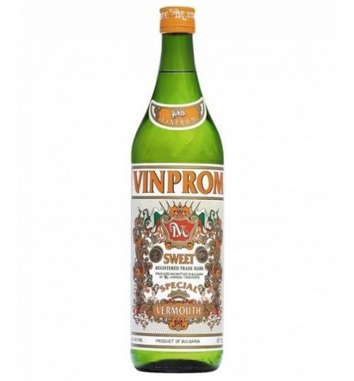 Вермут Винпром Сладък 1л Търговище
