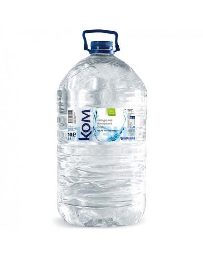Вода Ком 10л Натурална минерална вода