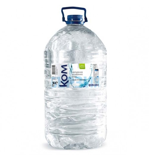 Вода Ком 3л Натурална минерална вода